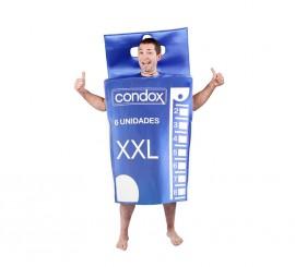 Disfraz de Caja de Preservativos para adultos