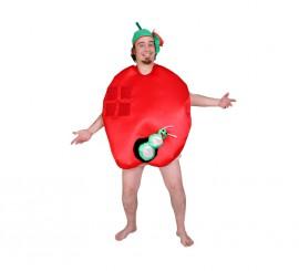 Disfraz de Manzana para adultos