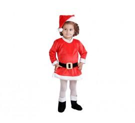 Disfraz de Mama Noel 18 meses para Navidad