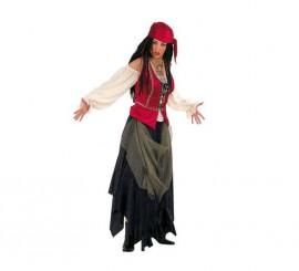 Disfraz de Pirata Valorius para mujer