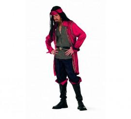 Disfraz de Pirata Valorius Superluxe para hombre
