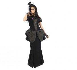 Disfraz Dama Gótica Eleida para Mujer varias Tallas