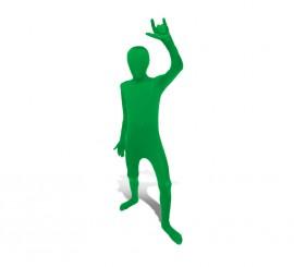 Disfraz de MORPHSUIT color verde talla M infantil