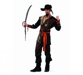 Disfraz de Pirata Aventurero Deluxe para hombre.