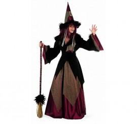 Disfraz de Bruja Dacha Adulta Deluxe para mujer