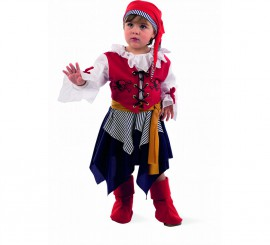 Disfraz Pirata Bucanera para niña