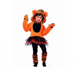 Disfraz Tigre Tutu Deluxe para niña