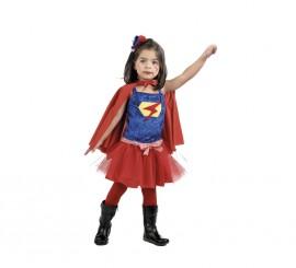Disfraz Super Girl para Niña en Varias tallas