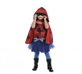 Disfraz Spider Girl para Niña en varias Tallas