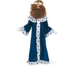 Disfraz de Rey Mago Melchor Deluxe para niño