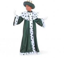 Disfraz de Rey Mago Baltasar Deluxe para niño