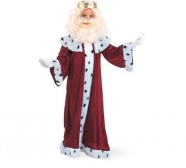 Disfraz de Rey Mago Gaspar Deluxe para niño