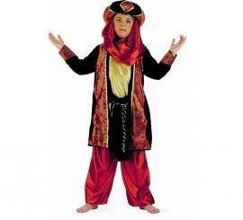 Disfraz Paje Tuareg Caldera niño