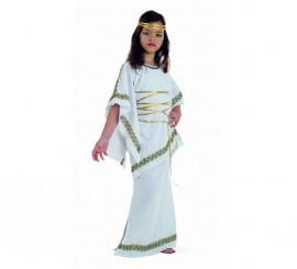Disfraz de Griega para niña
