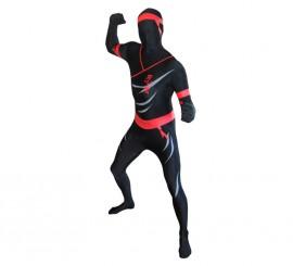 Disfraz de Ninja marca MORPHSUIT de adultos