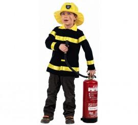 Disfraz de  Bombero para niños de 3-5 años