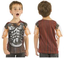Camisa de Gladiador Romano para Niño