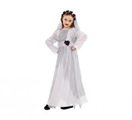 Disfraz de Novia Cadáver para niñas
