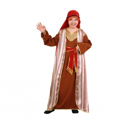 Disfraz de Hebrea marrón para niñas