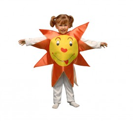 Disfraz de Sol para niños de 1 a 2 años