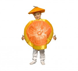 Disfraz de Mandarina para niños