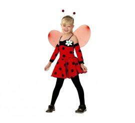 Disfraz de Hada Mariquita para niñas
