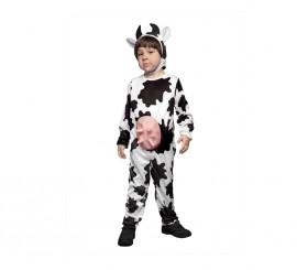 Disfraz de Vaca con ubres 7-9 años