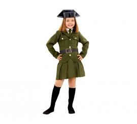 Disfraz de Guardia Civil para niñas