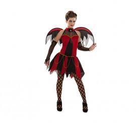 Disfraz de Vampiresa para chicas talla S