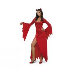 Disfraz de Diablesa Hechicera mujer para Halloween