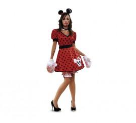 Disfraz de Ratoncita Zombie de mujer talla M-L