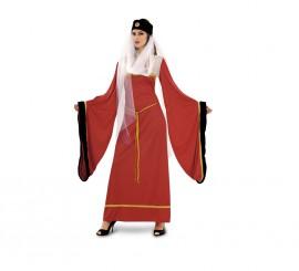 Disfraz de Lady Noble granate para mujer talla M-L