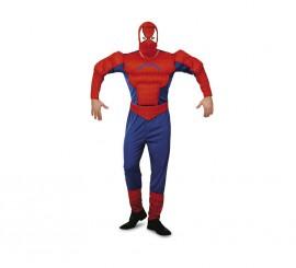 Disfraz Hombre Araña musculoso para hombre talla XL
