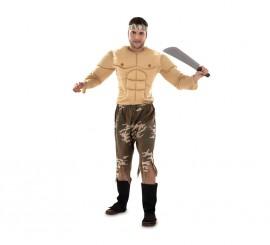 Disfraz de Soldado Rambo talla M-L para hombre