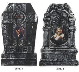 Lápidas con foto de 49x30 cm en 2 modelos