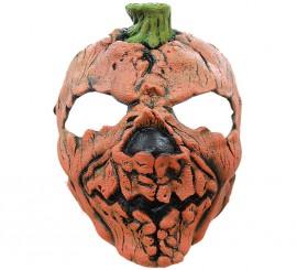 Máscara de Calabaza aterradora