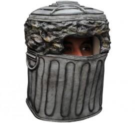 Máscara de cubo de basura