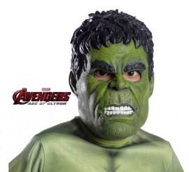 Máscara de Hulk de Los Vengadores infantil
