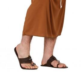 Par de sandalias de Pastor Hebreo de 28,5 cm