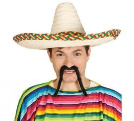 Sombrero Mejicano de paja 50 cms