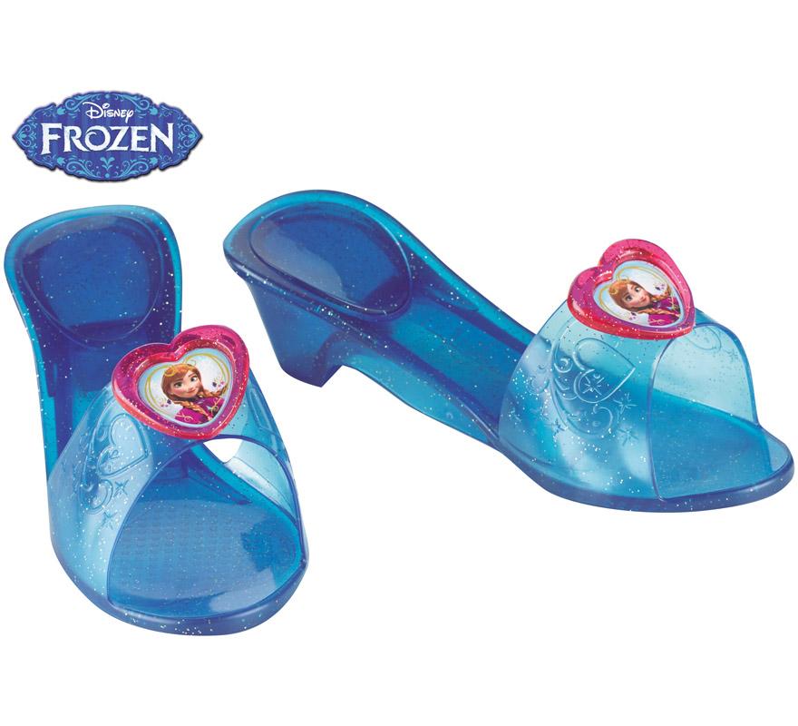 Zapatos de anna de frozen para ni a - Ideas para decorar zapatos de nina ...